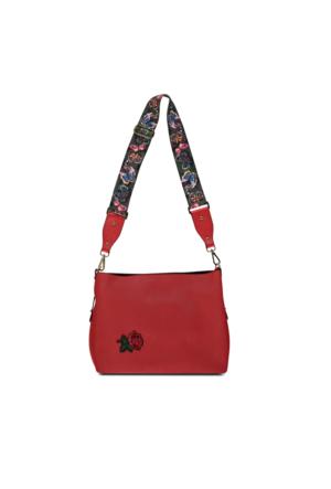 Marjin Nerlas Günlük Postacı Çanta Kırmızı