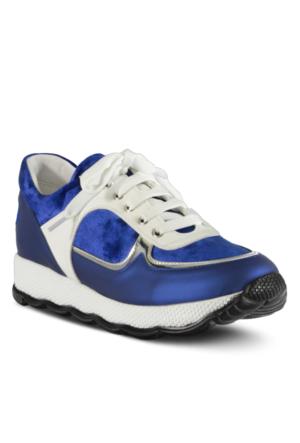Marjin Minka Dolgu Spor Ayakkabı Mavi