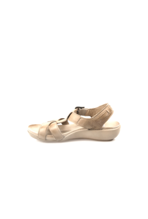 Ziya Kadın Hakiki Deri Sandalet 7176 1319 Kum