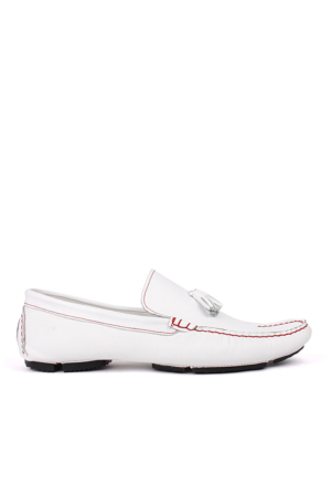 Crunell 1959 027 465 Erkek Beyaz Günlük Ayakkabı
