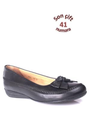 King Paolo 682 034 013 Kadın Siyah Günlük Ayakkabı