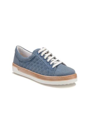 Butigo S1955 Mavi Kadın Sneaker Ayakkabı