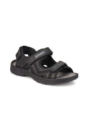 Kinetix Darken Siyah Erkek Sandalet