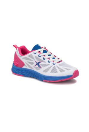 Kinetix Faunus W Beyaz Gül Kurusu Kadın Koşu Ayakkabısı