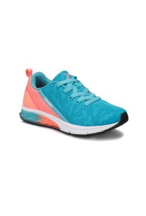 Kinetix Lucina Mavi Turuncu Kadın Koşu Ayakkabısı
