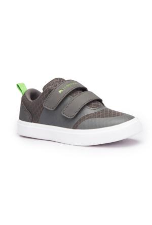 Lumberjack Reception Gri Unisex Çocuk Sneaker Ayakkabı