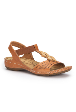 Polaris 71.157364.Z Taba Kadın Sandalet