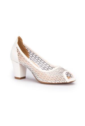 Polaris 71.308350.Z Beyaz Kadın Ayakkabı