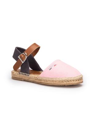 U.S. Polo Assn. Leones Pembe Kız Çocuk Espadril Ayakkabı