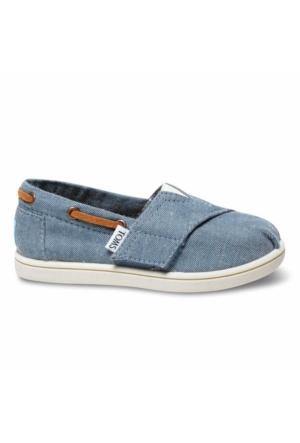 Toms 10007505 Chambray Tn Bımını Esp Çocuk Günlük Ayakkabı