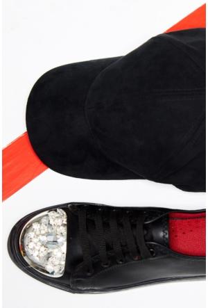 FullaModa Taşlı Ayakkabı 17Y17DED61338
