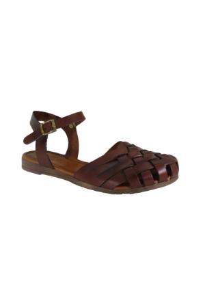 Despina Vandi Pndr 571-1 Günlük Kadın Deri Sandalet