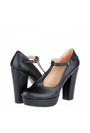 Tübu Kadın Platform Topuklu Ayakkabı