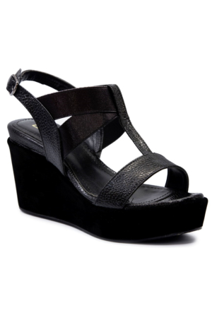 Gedikpaşalı 6605 Siyah Sandalet