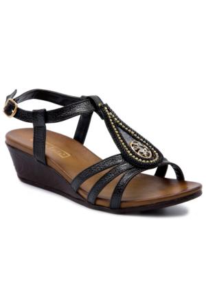 Gedikpaşalı 7Y 2119 Siyah Sandalet
