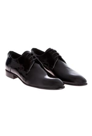 Kiğılı Neolit Taban Rugan Ayakkabı Siyah