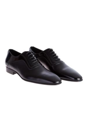 Neolit Taban Rugan Ayakkabı Siyah Kiğılı