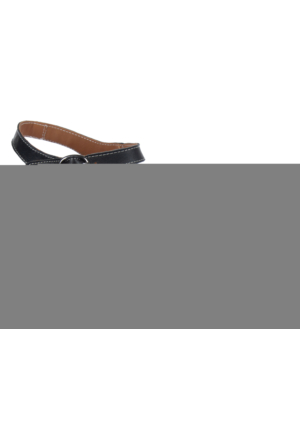 Shalin Ges 5073 Siyah Multi Hakiki Deri Ortepedik Bayan Sandalet
