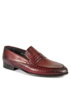Hammer Jack Hmr 42660 Bordo Hakiki Deri Erkek Ayakkabı