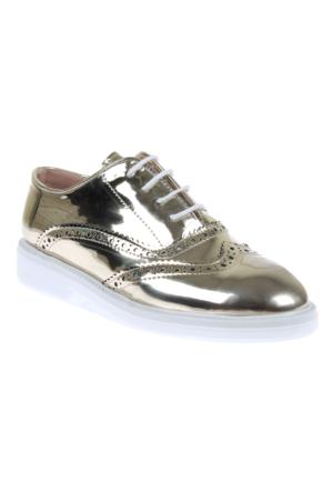 Shalin 500 Gold Günlük Bağcıklı Bayan Ayakkabı