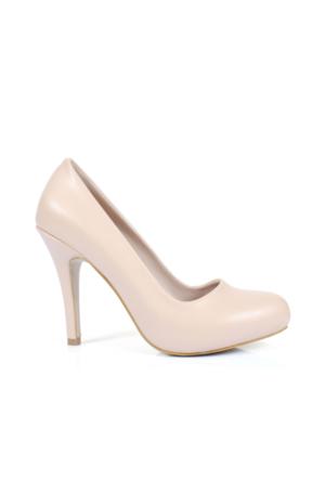 Shalin 25 Ten Platform Topuklu Bayan Ayakkabı