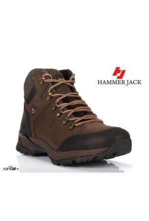 Hammer Jack 16775 Kahve %100 Deri Kadın Bot