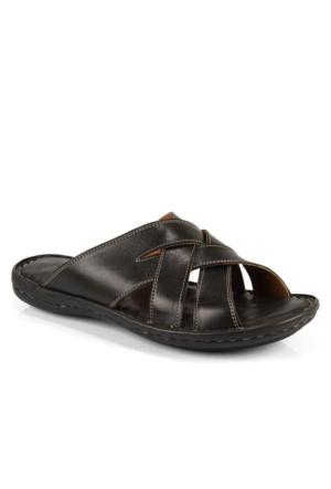 İloz 240401 Siyah Günlük Erkek Sandalet
