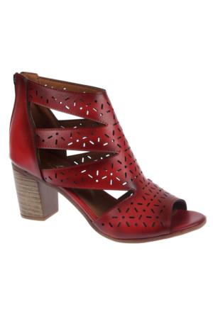 Beety Bty 1452 Kırmızı Bayan Ayakkabı