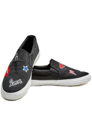 Hogg Baskılı Ayakkabı