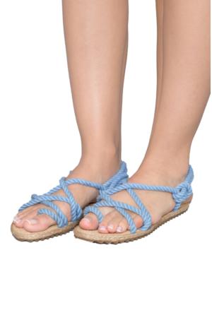 Gio&Mi F3 Açık Mavi Sandalet