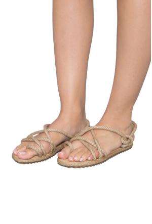 Gio&Mi F3 Bej Sandalet