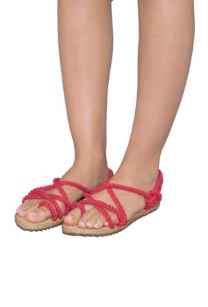 Gio&Mi F3 Kırmızı Sandalet