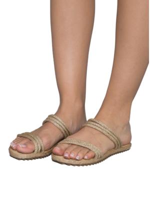 Gio&Mi F9 Bej Sandalet