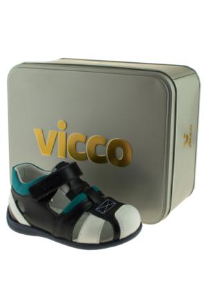 Vicco 907.Z.190 Vip Bebe Deri Lacivert Çocuk Sandalet