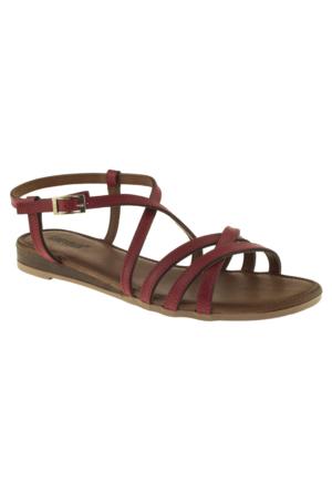 Greyder 51305 Zn Casual Kırmızı Bayan Sandalet