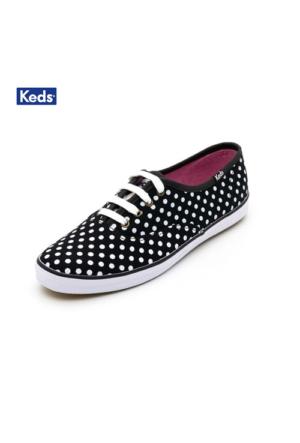 Keds Wf46402 Ch Dot Black/White Ayakkabı