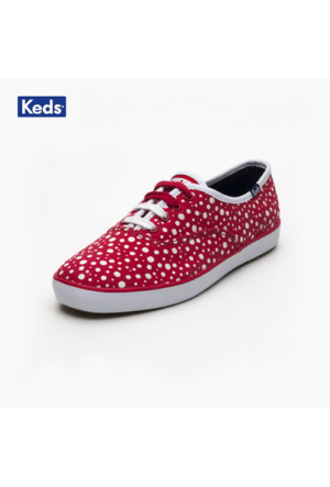 Keds Wf50013 Ch Bubble Dot Red Ayakkabı