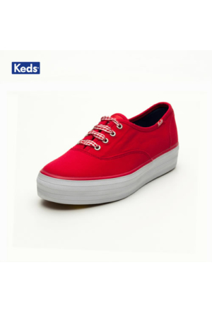Keds Wf49950 Triple Bright Red Ayakkabı