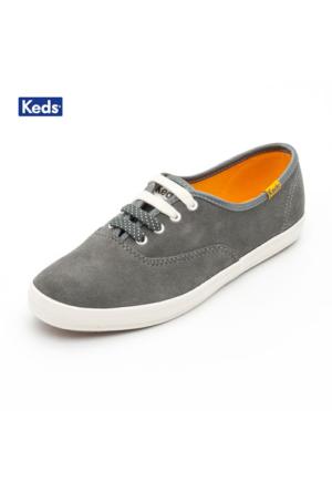 Keds Wh48116 Ch Suede Cvo Gray Ayakkabı