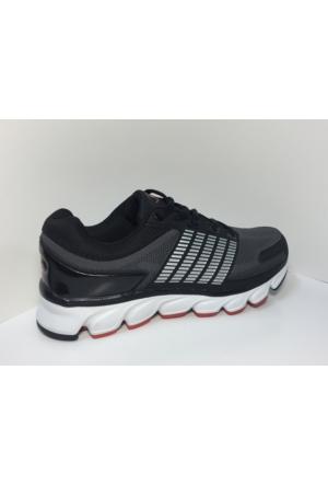 M.P. 162-1512 Marginal Siyah - Gri Yürüyüş Spor Koşu Ayakkabı