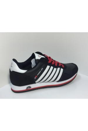 M.P. 162-1523 Siyah Powerline Yürüyüş Spor Ayakkabı