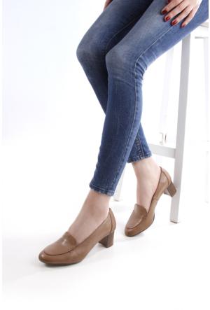 Gön Deri Kadın Ayakkabı 13277