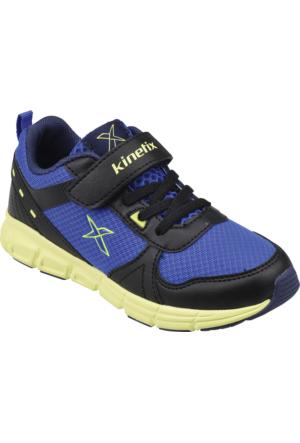 Kinetix Hypno Sarı Lacivert Erkek Çoçuk Spor Ayakkabı