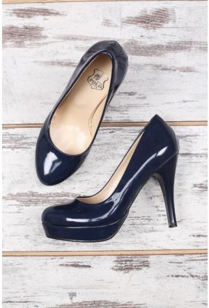 B.F.G Polo Style Lacivert Bayan Platform Ayakkabı