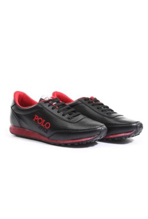 B.F.G Polo Style Siyah Spor Ayakkabı