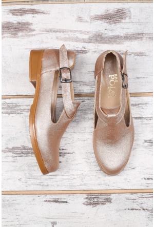B.F.G Polo Style Bej Bayan Ayakkabı