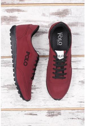 B.F.G Polo Style Bordo Erkek Spor Ayakkabı