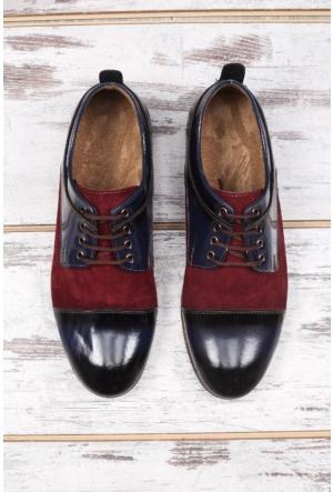 Shoes&Moda Lacivert Erkek Ayakkabı