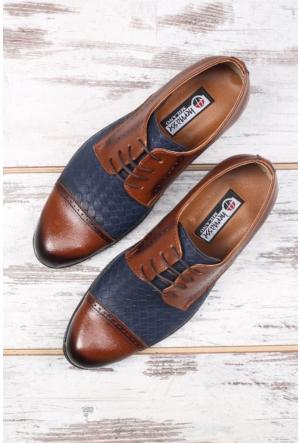 Shoes&Moda Lacivert Erkek Kundura Ayakkabı
