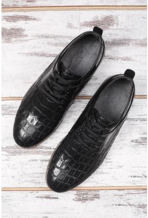 Shoes&Moda Siyah Erkek Deri Ayakkabı